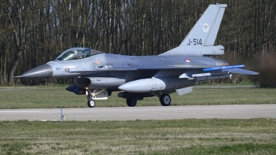 Photo ID 219013 by Peter Boschert. Netherlands Air Force General Dynamics F 16AM Fighting Falcon, J 514