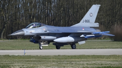 Photo ID 219014 by Peter Boschert. Netherlands Air Force General Dynamics F 16AM Fighting Falcon, J 866