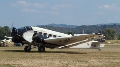 Photo ID 219040 by Sybille Petersen. Private Ju Air Junkers Ju 52 3M, HB HOS