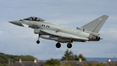 Photo ID 219035 by Joop de Groot. UK Air Force Eurofighter Typhoon FGR4, ZK372