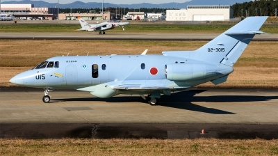 Photo ID 219129 by Mark Munzel. Japan Air Force Hawker Siddeley U 125A HS 125 800, 02 3015