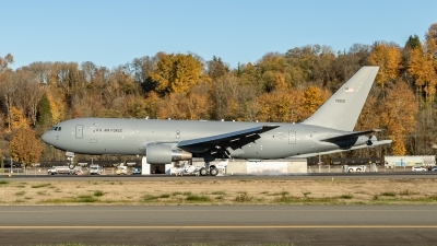 Photo ID 219126 by Paul Varner. USA Air Force Boeing KC 46A Pegasus 767 200LRF, 17 46031