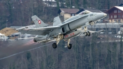 Photo ID 219193 by Martin Thoeni - Powerplanes. Switzerland Air Force McDonnell Douglas F A 18C Hornet, J 5006