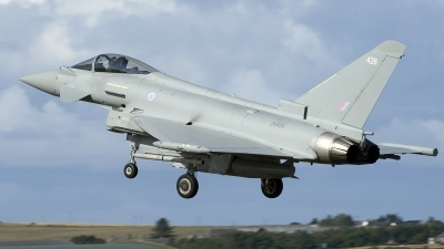 Photo ID 219300 by Joop de Groot. UK Air Force Eurofighter Typhoon FGR4, ZK426