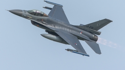 Photo ID 219340 by Sascha Gaida. Netherlands Air Force General Dynamics F 16AM Fighting Falcon, J 201