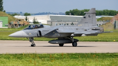 Photo ID 219450 by Stephan Franke - Fighter-Wings. Czech Republic Air Force Saab JAS 39C Gripen, 9245