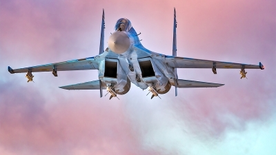 Photo ID 219477 by Vladimir Vorobyov. Ukraine Air Force Sukhoi Su 27UB, 73 BLUE