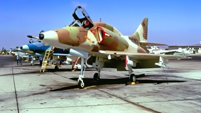 Photo ID 219597 by Gerrit Kok Collection. USA Marines McDonnell Douglas A 4E Skyhawk, 15009