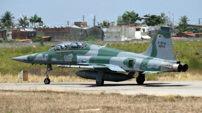Photo ID 219614 by Marc van Zon. Brazil Air Force Northrop F 5FM Tiger II, 4808
