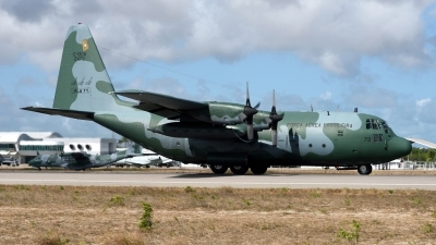Photo ID 219616 by Marc van Zon. Brazil Air Force Lockheed C 130M Hercules, 2473