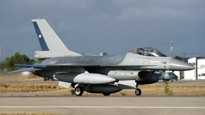Photo ID 219618 by Marc van Zon. Chile Air Force General Dynamics F 16AM Fighting Falcon, 745