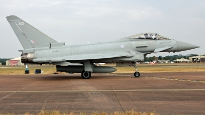 Photo ID 219693 by Richard de Groot. UK Air Force Eurofighter Typhoon FGR4, ZK352