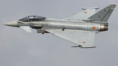 Photo ID 219688 by Fernando Sousa. Spain Air Force Eurofighter C 16 Typhoon EF 2000S, C 16 32