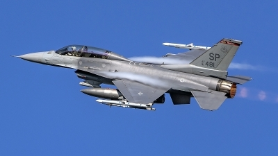 Photo ID 219838 by Matthias Becker. USA Air Force General Dynamics F 16D Fighting Falcon, 91 0481