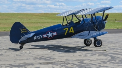 Photo ID 219935 by Jan Eenling. Private Private Boeing Stearman N2S 5, N5274N
