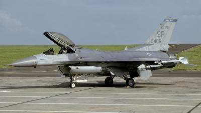 Photo ID 219908 by Matthias Becker. USA Air Force General Dynamics F 16C Fighting Falcon, 91 0406