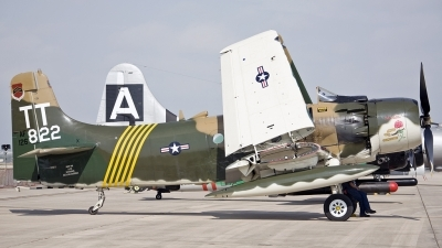 Photo ID 219943 by D. A. Geerts. Private Private Douglas A 1D Skyraider AD 4NA, NX91945