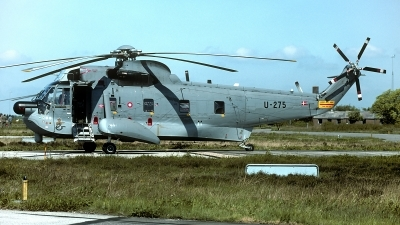 Photo ID 219941 by Carl Brent. Denmark Air Force Sikorsky S 61A 1 Sea King, U 275