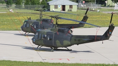 Photo ID 25374 by Lutz Lehmann. Germany Air Force Bell UH 1D Iroquois 205, 71 47