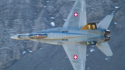 Photo ID 222492 by Agata Maria Weksej. Switzerland Air Force McDonnell Douglas F A 18C Hornet, J 5011