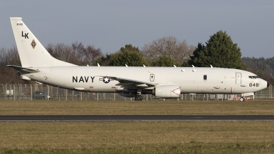 Photo ID 220015 by Chris Lofting. USA Navy Boeing P 8A Poseidon 737 800ERX, 168848