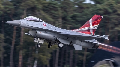 Photo ID 220011 by Matthias Becker. Denmark Air Force General Dynamics F 16AM Fighting Falcon, E 607