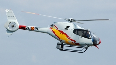 Photo ID 25476 by Radim Spalek. Spain Air Force Eurocopter EC 120B Colibri, HE 25 9