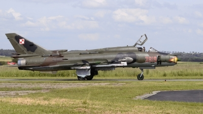 Photo ID 220053 by Matthias Becker. Poland Air Force Sukhoi Su 22M4 Fitter K, 3819