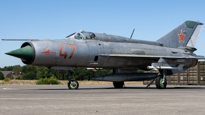 Photo ID 220085 by Jan Eenling. Russia Air Force Mikoyan Gurevich MiG 21PFM, 47 RED