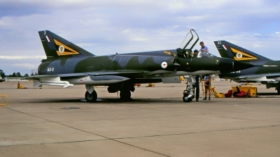 Photo ID 220388 by Gerrit Kok Collection. Australia Air Force Dassault Mirage IIIO F, A3 3