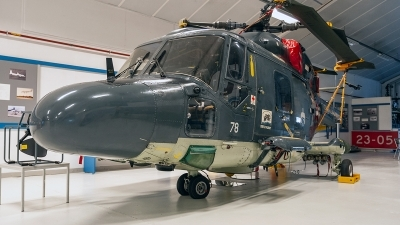 Photo ID 220331 by Jan Eenling. Netherlands Navy Westland WG 13 Lynx SH 14D, 278