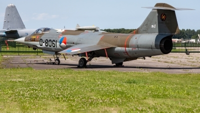 Photo ID 220130 by Jan Eenling. Netherlands Air Force Lockheed F 104G Starfighter, D 8061