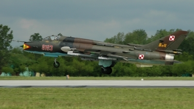 Photo ID 25356 by Radim Spalek. Poland Air Force Sukhoi Su 22M4 Fitter K, 8103