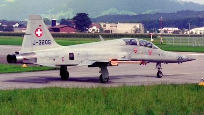 Photo ID 220660 by Sven Zimmermann. Switzerland Air Force Northrop F 5F Tiger II, J 3205