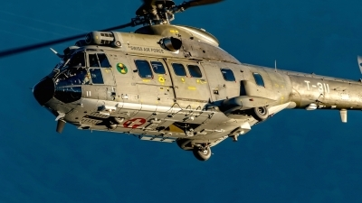 Photo ID 220200 by Martin Thoeni - Powerplanes. Switzerland Air Force Aerospatiale AS 332M1 Super Puma, T 311
