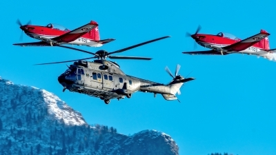 Photo ID 220199 by Martin Thoeni - Powerplanes. Switzerland Air Force Aerospatiale AS 332M1 Super Puma, T 311