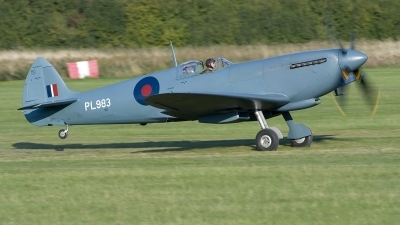 Photo ID 220250 by Joop de Groot. Private Aircraft Restoration Co Supermarine 365 Spitfire PR11, G PRXI