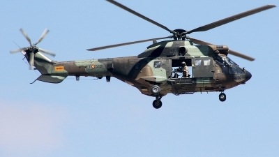 Photo ID 220453 by F. Javier Sánchez Gómez. Spain Army Aerospatiale AS 332B Super Puma, HU 21 20