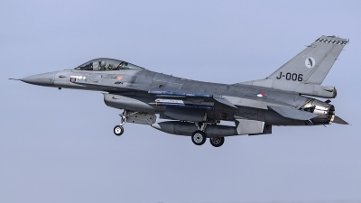 Photo ID 220435 by Matthias Becker. Netherlands Air Force General Dynamics F 16AM Fighting Falcon, J 006