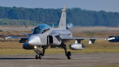 Photo ID 220440 by Hans Rödel. Czech Republic Air Force Saab JAS 39D Gripen, 9820