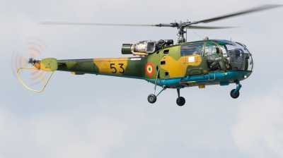 Photo ID 220517 by Andreas Zeitler - Flying-Wings. Romania Air Force IAR 316B Alouette III, 53