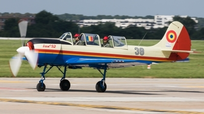 Photo ID 220545 by Andreas Zeitler - Flying-Wings. Romania Air Force Yakovlev Aerostar Iak 52 Yak 52, 42