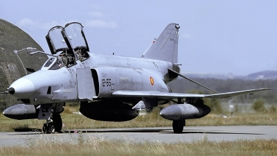 Photo ID 220540 by Matthias Becker. Spain Air Force McDonnell Douglas RF 4C Phantom II, CR 12 46