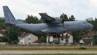 Photo ID 25385 by Lutz Lehmann. Poland Air Force CASA C 295M, 011