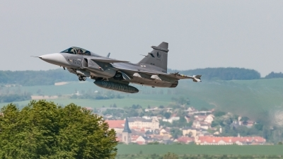 Photo ID 220582 by David Novák. Czech Republic Air Force Saab JAS 39C Gripen, 9240