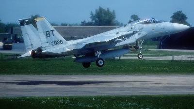 Photo ID 220665 by Rainer Mueller. USA Air Force McDonnell Douglas F 15C Eagle, 80 0028