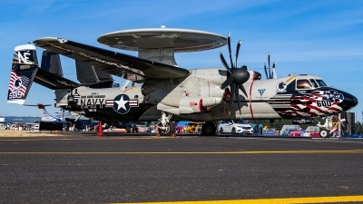Photo ID 220600 by Alex Jossi. USA Navy Grumman E 2C Hawkeye, 165819