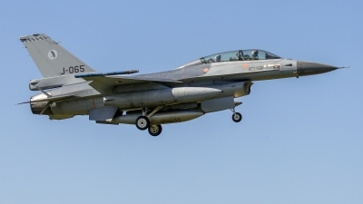 Photo ID 220611 by Sascha Gaida. Netherlands Air Force General Dynamics F 16BM Fighting Falcon, J 065
