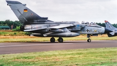 Photo ID 220676 by Jan Eenling. Germany Air Force Panavia Tornado IDS, 45 20