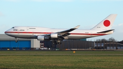 Photo ID 220685 by Carl Brent. Japan Air Force Boeing 747 47C, 20 1102